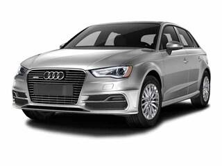 2016 Audi A3 e-Tron Premium Hatchback