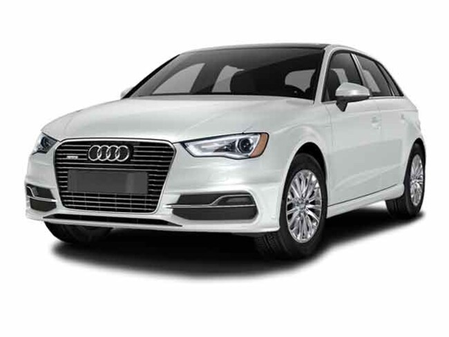 Pre-Owned 2016 Audi A3 e-Tron 1.4T Premium Hatchback in Iowa City, IA