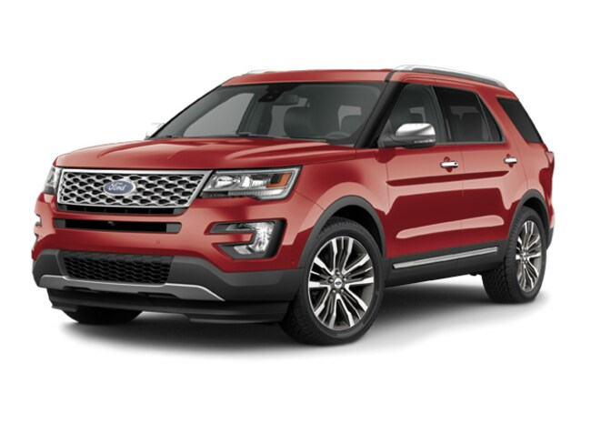 2016 Ford Explorer Platinum Full Size SUV