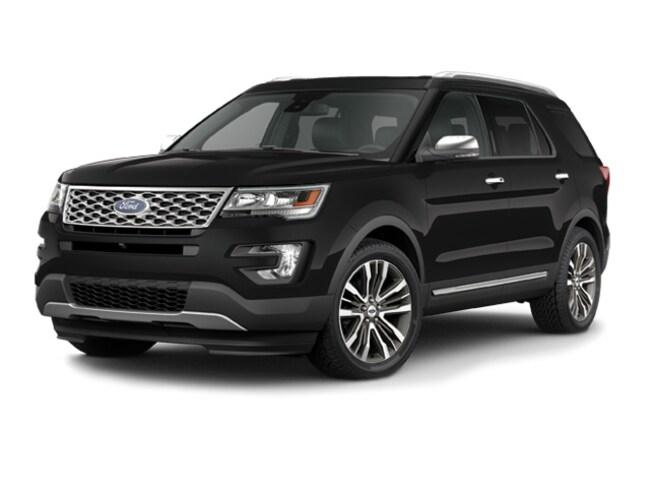 2016 Ford Explorer Platinum 4WD Sport Utility