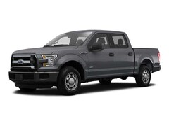 2016 Ford F-150 BLACK CLOTH Crew Cab Short Bed Truck