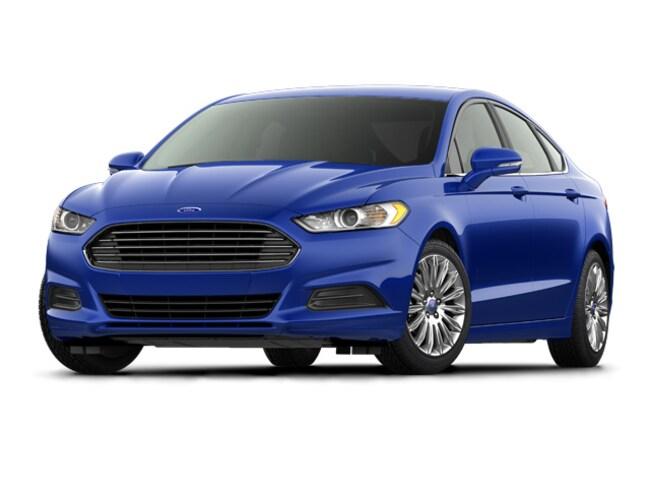 2016 Ford Fusion S Sedan