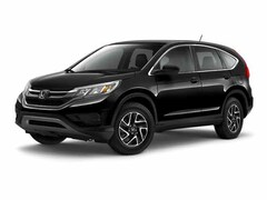 Certified Pre-Owned 2016 Honda CR-V SE SUV Lockport NY