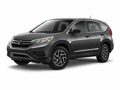 New 2016 Honda CR-V SE SUV in Lockport, NY