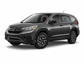 Used 2016 Honda CR-V SE SUV for sale in Colorado Springs