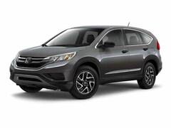 2016 Honda CR-V SE AWD CERTIFIED Sport Utility
