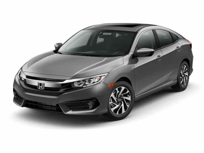 Used 2016 Honda Civic EX Sedan for sale in Chattanooga, TN
