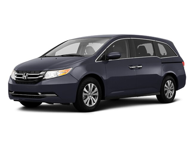 Certified pre-owned Honda 2016 Honda Odyssey SE Van Passenger Van for sale near Salt Lake City