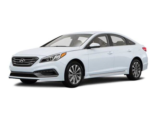 2016 Hyundai Sonata 2.4L Sport Sedan Used Car For Sale in Stockton California
