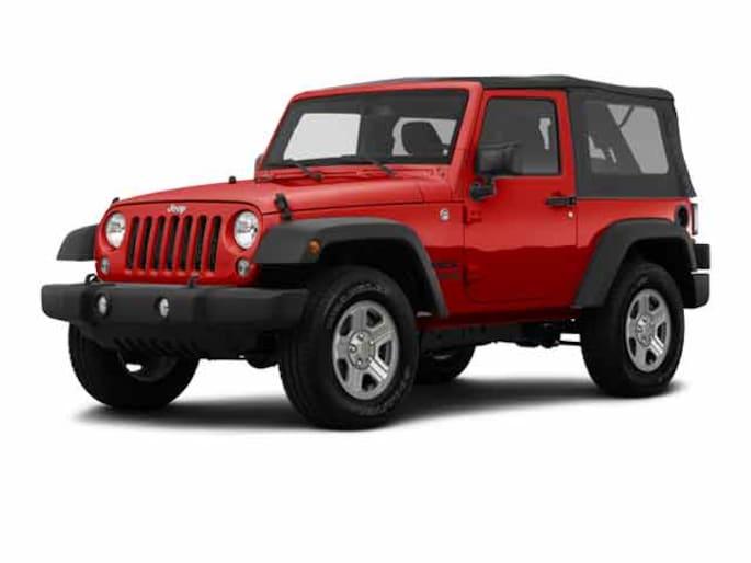 2016 Jeep Wrangler JK SPORT S 4X4 Sport Utility