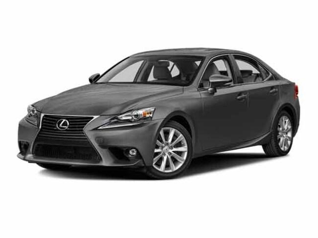 2016 LEXUS IS 200t Sedan
