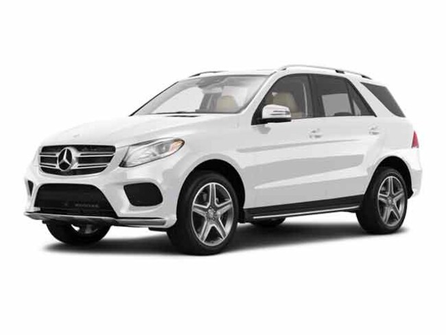 2016 Mercedes-Benz GLE GLE 400 4MATIC AWD GLE 400 4MATIC  SUV