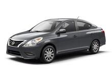 2016 Nissan Versa 1.6 S Sedan