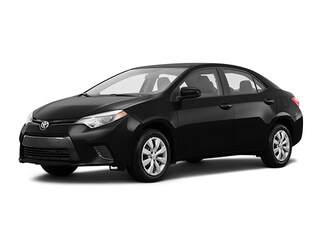 2016 Toyota Corolla 4-Door Sedan LE Cvti-S Sedan