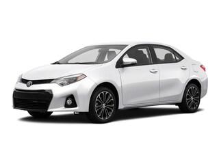 Used 2016 Toyota Corolla S Premium Sedan San Antonio TX