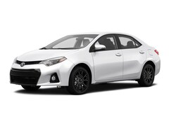 2016 Toyota Corolla S with Special Edition Pkg Sedan