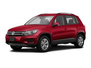 2016 Volkswagen Tiguan 4motion  Auto SUV