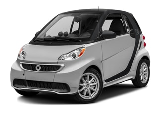 2016 smart fortwo electric drive Coupe Silver Metallic