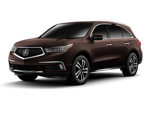 2017 Acura MDX V6 SH-AWD with Advance Packages SUV 5FRYD4H89HB008201
