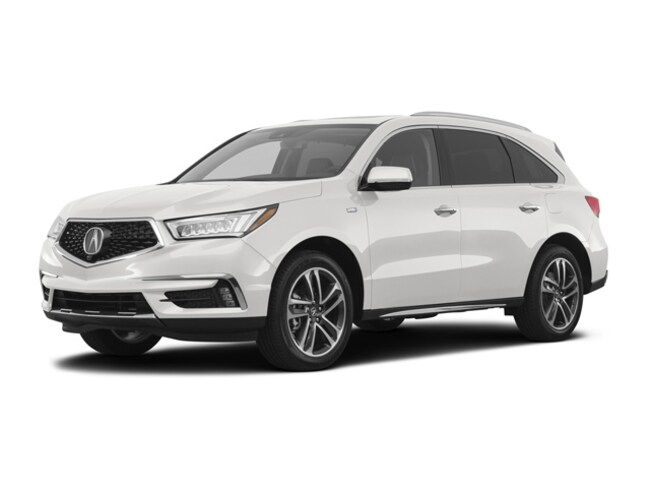 2017 Acura MDX Sport Hybrid SH-AWD with Advance Package SUV V-6