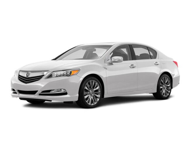 Certified Used 2017 Acura RLX V6 with Technology Package - Dealer Loaner Sedan Stockton