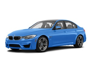 2017 BMW M3 Sedan Yas Marina Blue Metallic