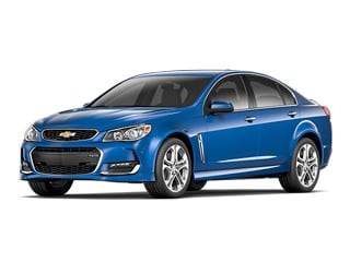 2017 Chevrolet SS Sedan Slipstream Blue Metallic