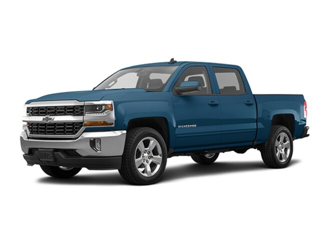 Used 2017 Chevrolet Silverado 1500 LT w/1LT Truck Crew Cab for sale in Merced, CA