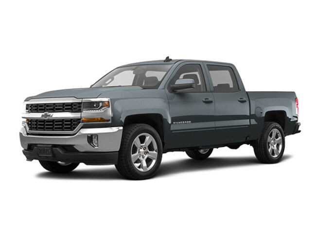 Used 2017 Chevrolet Silverado 1500 LT w/1LT Truck Crew Cab for Sale in Houston, TX at Helfman Dodge Chrysler Jeep Ram
