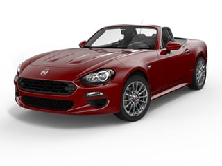 2017 FIAT 124 Spider Convertible Rosso (Red)