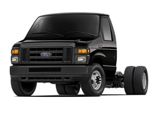 2017 Ford E-450 Cutaway Truck Shadow Black
