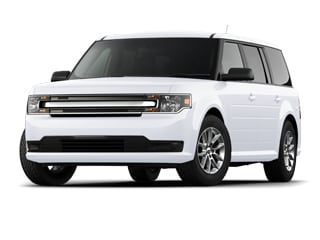2017 Ford Flex SUV White Platinum Metallic Tri