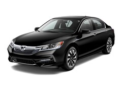 New 2017 Honda Accord Hybrid EX-L Sedan in Boston