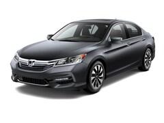 New 2017 Honda Accord Hybrid EX-L Sedan JHMCR6F54HC028515 near Honolulu