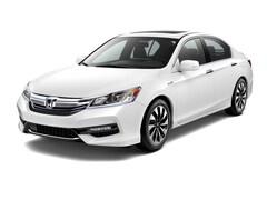 New 2017 Honda Accord Hybrid EX-L Sedan JHMCR6F55HC025882 near Honolulu