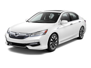 New 2017 Honda Accord Hybrid Touring Sedan JHMCR6F76HC021941 for sale in Rutland, VT at Shearer Honda