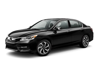 New 2017 Honda Accord EX-L V6 w/Navi & Honda Sensing Sedan 70452 Burlington MA