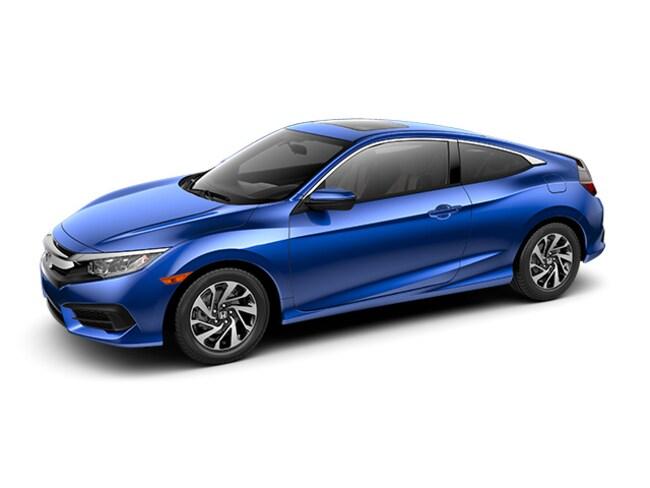 New 2017 Honda Civic LX-P Coupe 2HGFC4B0XHH302524 for sale in Davis, CA near Sacramento