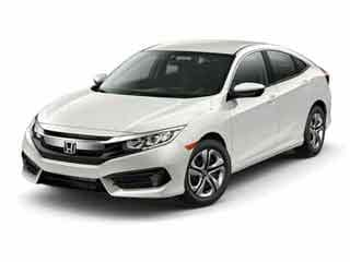 2017 Honda Civic Sedan White Orchid Pearl