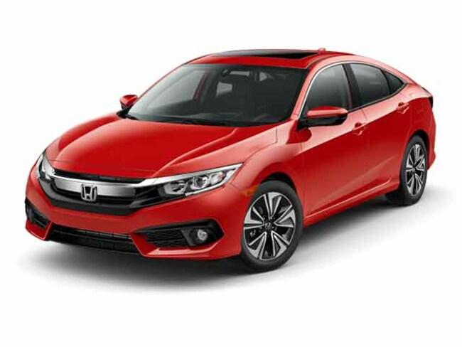 New 2017 Honda Civic EX-L Sedan Near Bridgeport