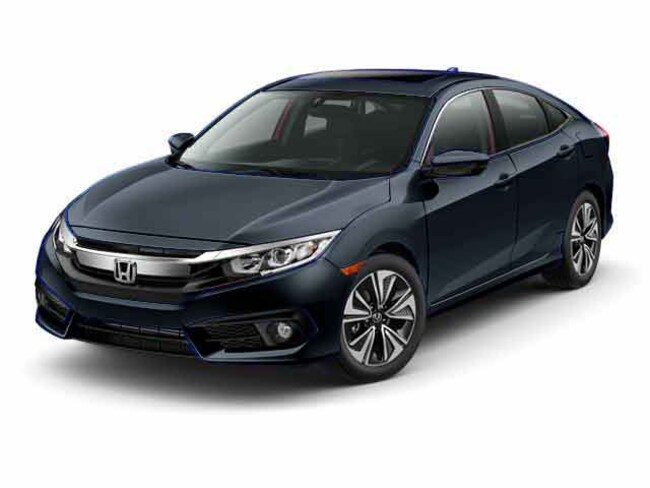 New 2017 Honda Civic EX-T Sedan 19XFC1F32HE205010 for sale in Davis, CA near Sacramento