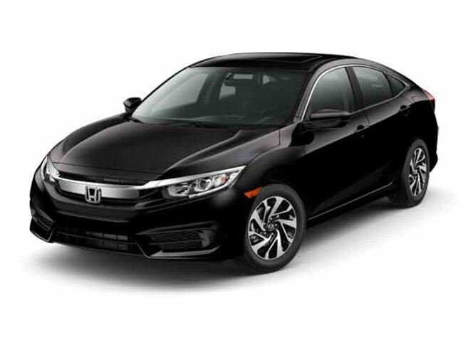 New 2017 Honda Civic EX w/Honda Sensing Sedan in Lancaster