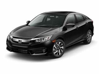 New 2017 Honda Civic EX w/Honda Sensing Sedan Ames, IA