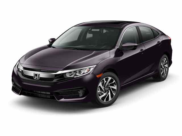 New 2017 Honda Civic EX Sedan in the Bay Area