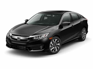 used 2017 Honda Civic EX Sedan 19XFC2F78HE063254 for sale in New Bern