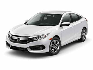 New 2017 Honda Civic LX w/Honda Sensing Sedan Houston, TX