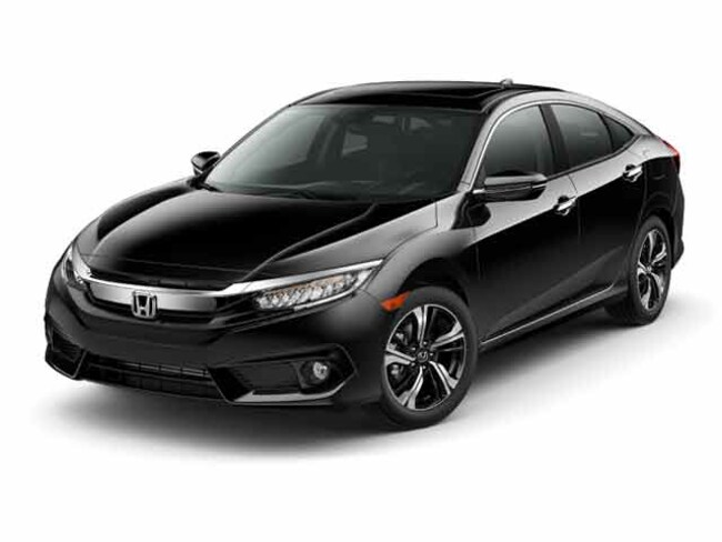 Certified Pre-owned 2017 Honda Civic Touring Sedan for sale in Wheeling, WV near St. Clairsville OH