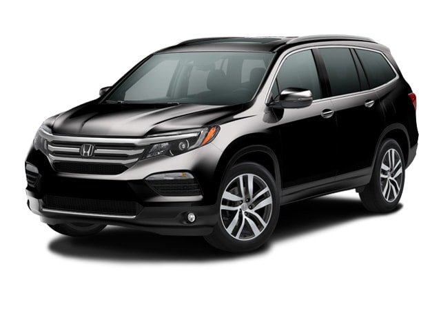 new 2017 honda pilot suv touring awd crystal black pearl for sale in kahului hi stock hb011464. Black Bedroom Furniture Sets. Home Design Ideas