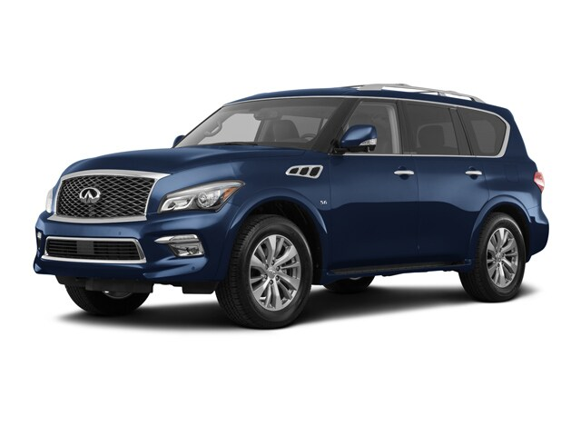 Pre Owned 2017 INFINITI QX80 Base SUV in Greenville, NC