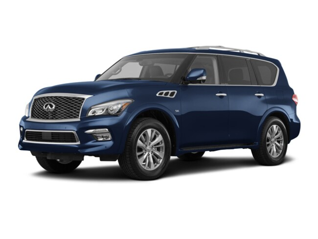 Used 2017 INFINITI QX80 RWD SUV for sale in Houston, TX
